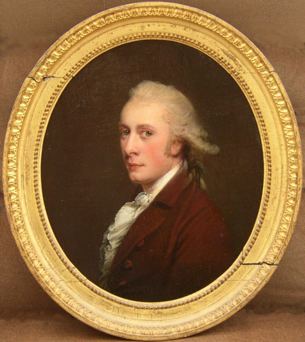 Portrait of James Caldwell, 1759-1838, of Linley Wood, Talke, Staffordshire, England.