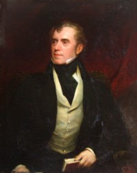 Portrait of James Stamford Caldwell MA of Linley Wood 1787-1858 Click for more information