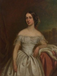 Portrait of Frances Mary Crofton nee Marsh 1819-1906
