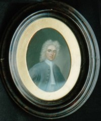 Portrait of Abraham Crompton of Chorley Hall, Lancashire