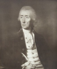 Portrait of Arthur Cuthbert of Berners St London and Woodcote (Woodcott) Hall Epsom Surrey 1734?-1788