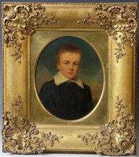 Portrait of Edward Kerrison Harvey 1826-1906 of Montague House South Lowestoft & Grey Friars Norwich