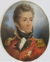 Miniature portrait of Lieut-General Sir John Moore 1761-1809