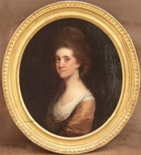 Portrait of Hannah Stamford of Linley Wood Talke Staffordshire England 1753-1832