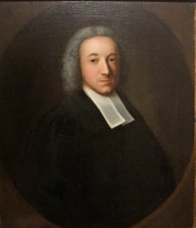 Portrait of the Rev George Beaumont 1724-1785 of Darton in Yorshire and later of Nottingham.  Painted by the artist John Theodore Heins 1697-1756 painter of Norwich Norfolk