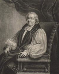 Portrait of Sir Thomas Gooch the Bishop 1675-1754 painted by the artist John Theodore Heins. Click for larger image.