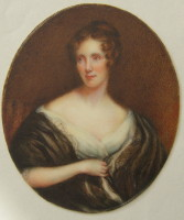 Portrait of Anne Marsh Caldwell 1791-1874 Click for larger image
