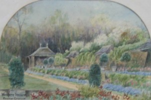 Picture of the Terrace Garden at Anstie Grange.