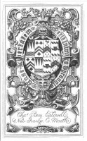 Bookplate of Charles BenjaminCaldwell Click for larger image