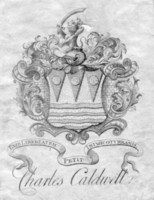 Bookplate of Charles Caldwell Click for larger image