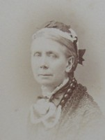 Portrait photograph of Francis Mary Crofton nee Marsh 1820-1906