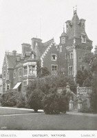Eastbury Park House near Watford in 1908 Click for more images