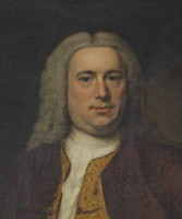 Portrait of John Harvey 1699-1750 of Ipswich, Norfolk. Click for larger image
