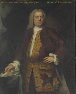 John Harvey 1699-1751 by John Theodore Heins 1697-1756 artist painter Norwich Norfolk