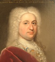 Portrait of John Harvey 1699-1750 of Ipswich painted by the artist John Theodore Heins of Norwich, painter. Click for larger image