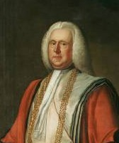 Portrait of Robert Harvey 1697-1773 of Catton, Norfolk. Click for larger image.