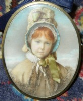 Miniature portrait of Winifred Marion Heath by the artist Henry Charles Heath