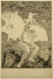 Early proof copy of the Engraving of Midsummer Night's Dream Painted by Thomas Stothard RA, Engraved by James Heath. Click for larger image