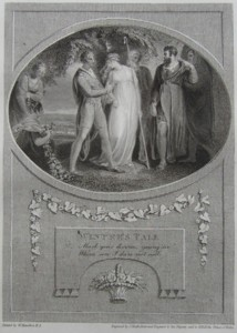 Winters Tale Painted by Thomas Stothard RA, Engraved by James Heath Engraver to his Majesty and his RH the Prince of Wales. Click for larger image