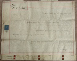 Marriage agreement between Leopold George Heath and Mary Emma Marsh 1853