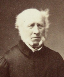 Portrait of Rev George Augustus Eliott Marsh Rector of Bangor Iscoed Monachorum 1790 - 1867. Click for large image.